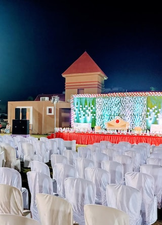 Rajhans Party Plot and Banquet Hall | Wedding Halls & Lawns in Nana Mava, Rajkot